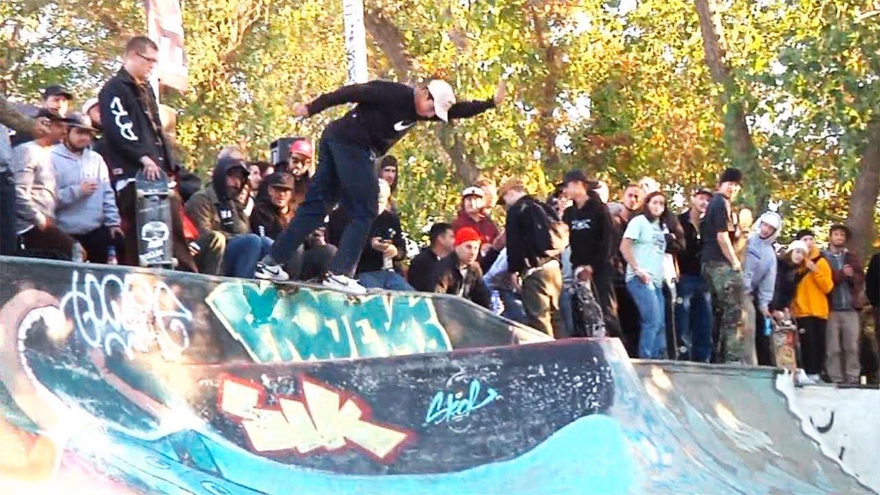 b674560553 Ethernal Skate Films   AM Getting Paid 2017 X Vans Best Trick Contest   P45  DIY skatepark