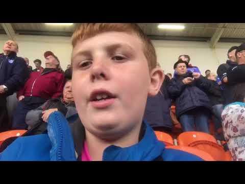 Pompey vs Blackpool( 3-2 Pompey)!!!