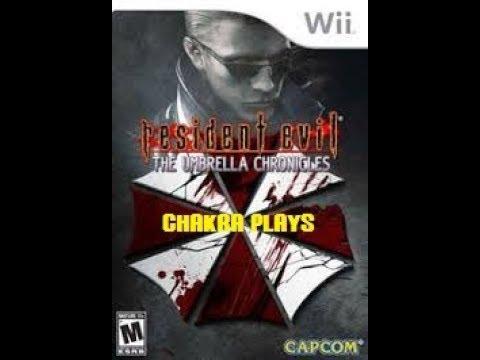 "Chakra Plays Live Stream-""Resident Evil Umbrella Chronicles"" (Wii)"