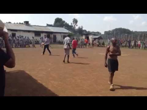 African-Kenyan Prison Soccer Game!! Aussies & Americans Vs Inmates!!