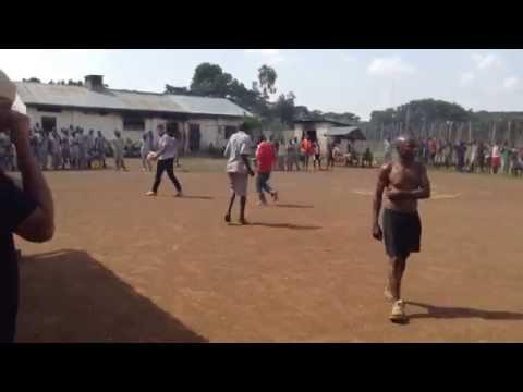 African-Kenyan Prison Soccer Game!! Aussies & Americans Vs Inmates!!