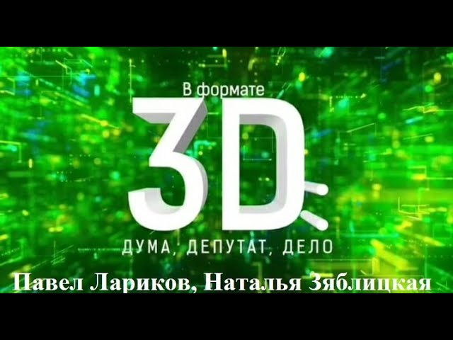Проект «В формате 3D: Дума, депутат, дело» продолжается