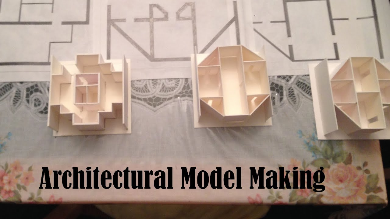 Making a 1 100 scale architectural model youtube for 4 1 architecture example