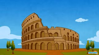 Colosseum - Fun Fact Series EP29 | Mocomi Kids
