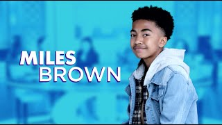 Tuesday on 'The Real': Miles Brown