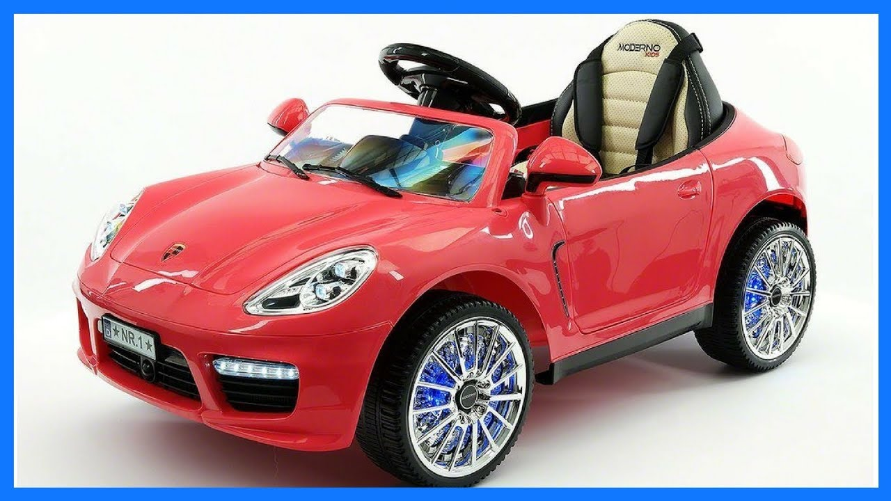 2017 Porsche Boxter Style 12v Electric Kids Ride On Car Toy Remote Control