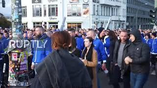 Germany: Hertha fans make presence felt en route to Union Berlin derby
