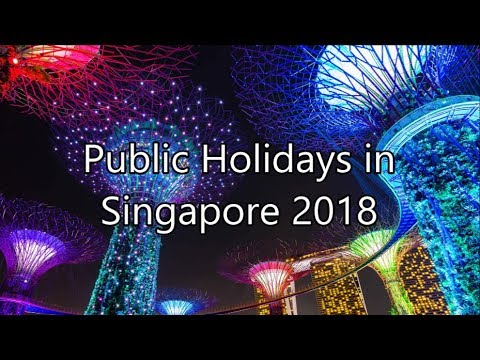 Public Holidays in Singapore in 2018