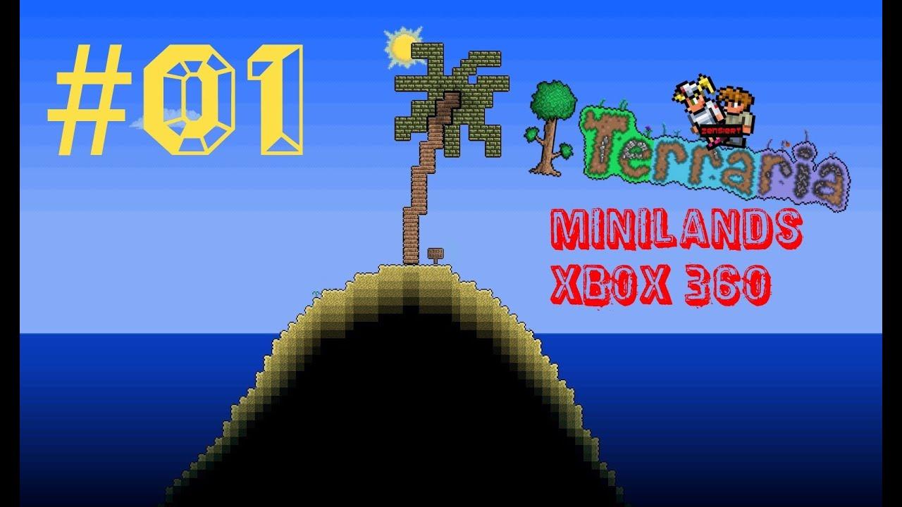 let s play terraria adventure map minilands 01 xbox 360