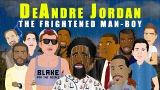 DeAndre Jordan is THE FRIGHTENED MAN-BOY