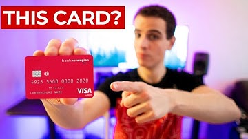 Bank Norwegian Visa: 5 REASONS why you should get this credit card.