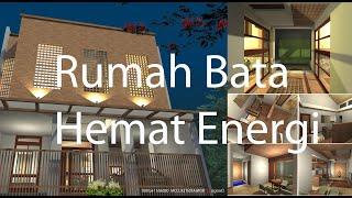 Cara Buat Rumah hemat energi listrik l Rumah Bata  l arsitek sidoarjo l arsitek surabaya
