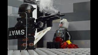 LEGO SWAT lego swat guy vs  zombies part1