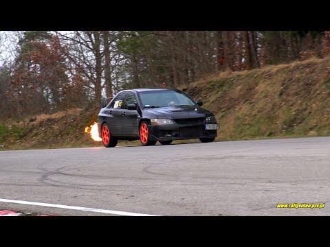Biskupski Eryk - Mitsubishi EVO - SuperOES 2 Runda Tor Kielce 22-02-2020