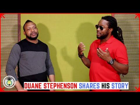 Reggae Singer DUANE STEPHENSON shares his story