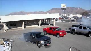 Four Chevy's pull down a building! John Watson Chevrolet in Ogden, UT! thumbnail