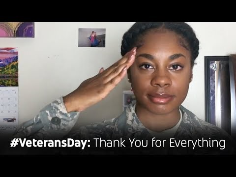 #VeteransDay: Thank You for Everything