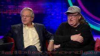 Where to invade next Michael Moore and Jerry Springer on Trump, Bernie and Brexit