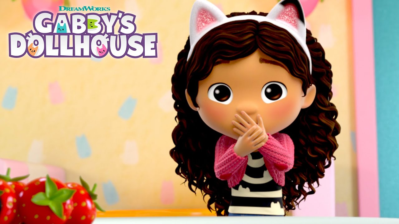 Gabby's Hiccups Won't Stop! | GABBY'S DOLLHOUSE | NETFLIX