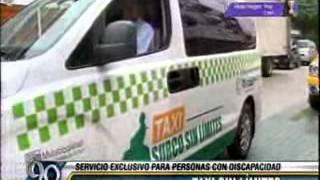 Taxi sin Límites - Municipalidad de Santiago de Surco