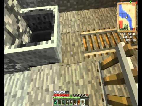 Gradini Di Legno Minecraft : Tutorial minecraft ° parte come fare una miniera carina