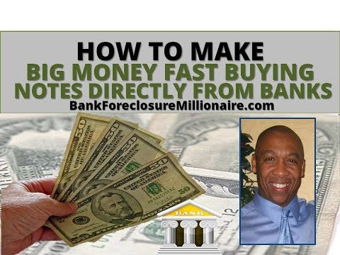 How To Make BIG MONEY FAST Buying Notes Directly From Banks