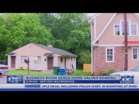 Business boom causes Durham home prices to soar