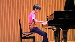 izuのピアノ発表会.
