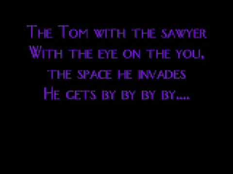MSI- Tom Sawyer (With Lyrics)