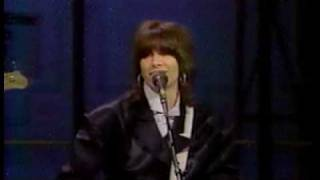 Chrissie Hynde Pretenders - Stop Your Sobbing - Live