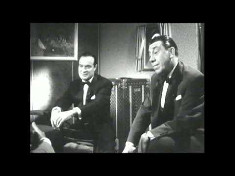 Bob Hope & Fernandel - Interview (1957)