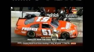 NASCAR Funny Cursing Radio Chatter