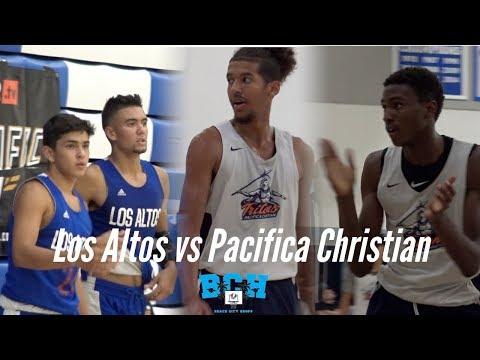Pacifica Christian & Los Altos GETS HEATED!!! Jarod Lucas vs Judah Brown & Solomon Davis!!