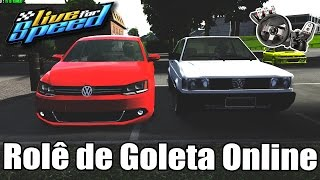 Live For Speed - Rolê de Gol Turbo Online (G27 mod)