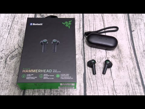 Razer Hammerhead Truly Wireless Earbuds Youtube