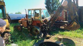 Ставим на ход брошенный трактор Беларусь! Поедет ли он?