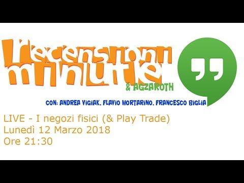 Recensioni Minute Hangout [013] - I negozi fisici (e Play Trade)