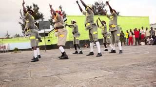 Mr. Fundi with Zangalewa Dancers