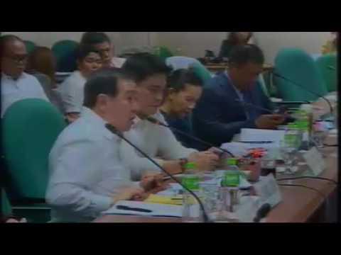 Senator Richard Gordon To Arthur Tugade DOTC Secretary