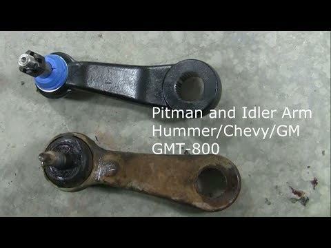 Pitman and Idler Arm Repair:  Hummer H2/Tahoe/Suburban/Silverado/Sierra/Yukon