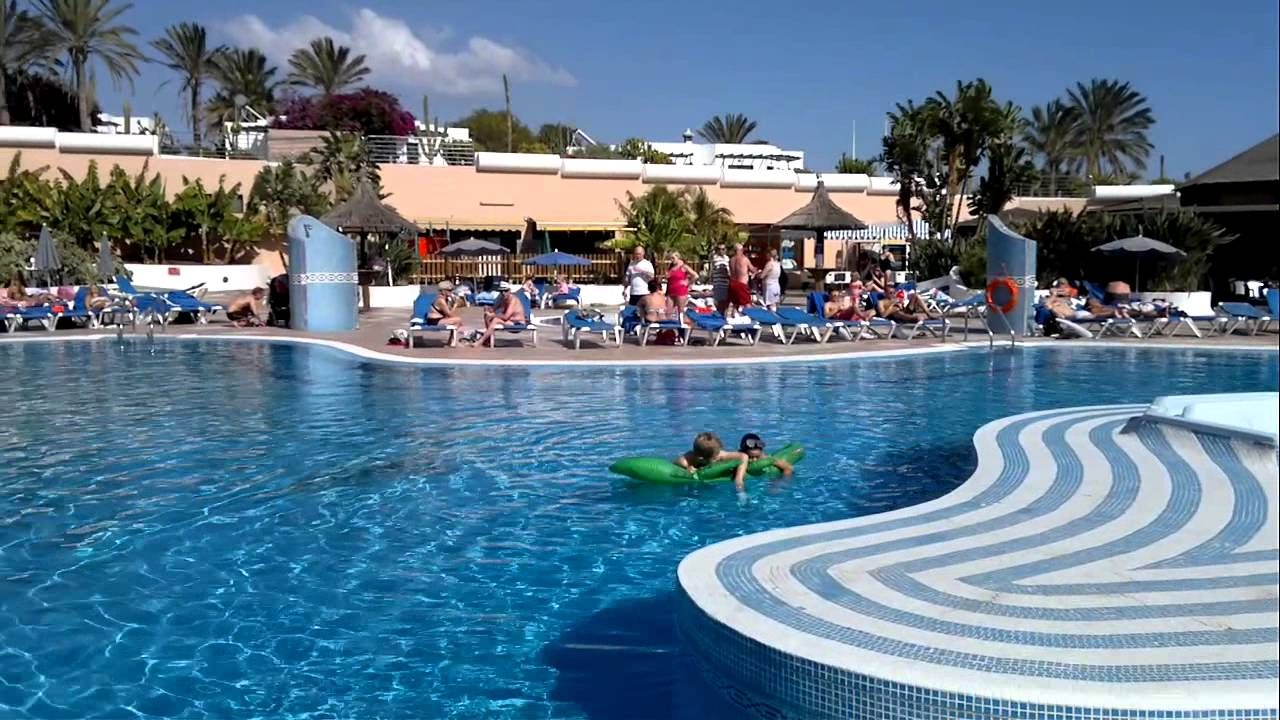 The Pool Area At Hl Club Playa Blanca Hotel