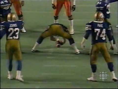 1988 Grey Cup - Winnipeg Blue Bombers vs BC Lions