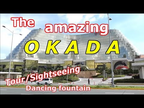 2019! THE AMAZING OKADA MANILA HOTEL & Dancing fountain VLOG TOUR, Manila, Philippines