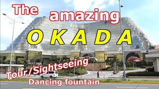 ( Part 1 ) THE AMAZING OKADA MANILA HOTEL & Dancing fountain VLOG TOUR, Manila, Philippines