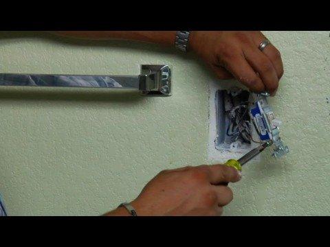 Reparaciones en la casa c mo arreglar un interruptor que for Como instalar un enchufe