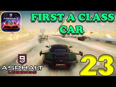 ASPHALT 9 : LEGENDS - MY FIRST A CLASS CAR ( ASTON MARTIN VULCAN ) - #23