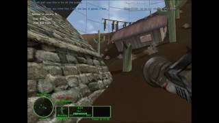 DFLW Delta Force Land Warrior Gameplay on Laptop