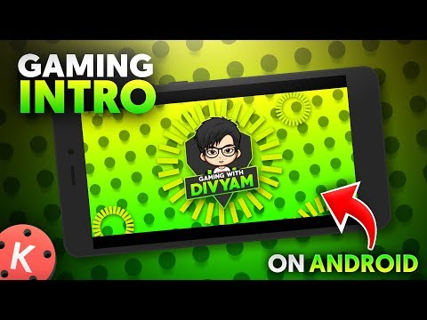 How To Make Gaming Intro On Android | Pubg Gaming Intro Tutorial Kinemaster