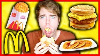 TASTING MCDONALDS BREAKFAST FOODS