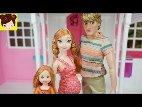 Anna Y Kristoff Se Mudan A La Nueva Casa De Barbie